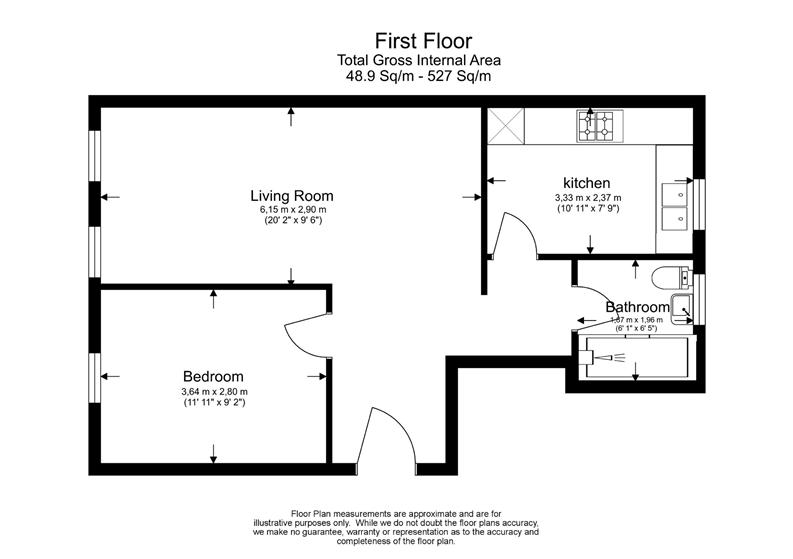 1 bedroom(s) apartment to sale in 5a Rotherfield Street, London-Floorplan