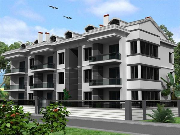 Brand new apartments in Seydikemer.