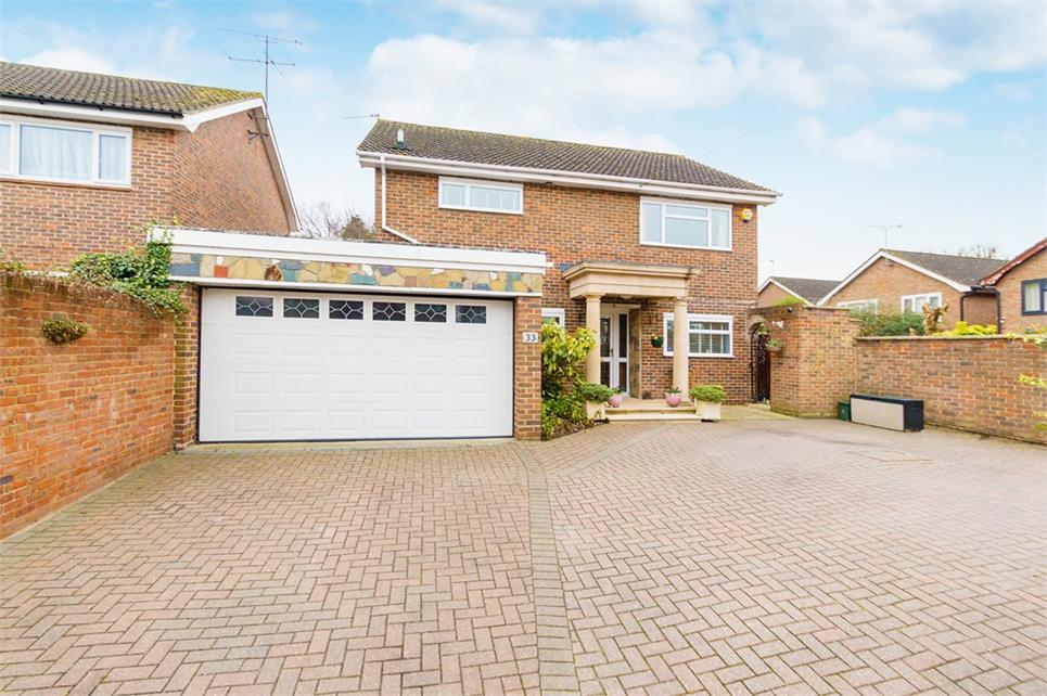 Substantial four bedroom detached family house located within sought-after location and short walk to Train Station (future Cross Rail)