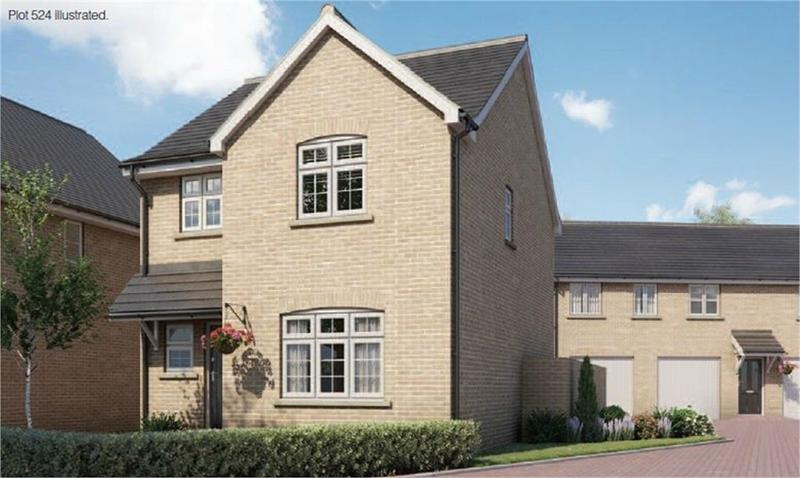 The Parnall at Chiswell Place, New Cardington, Bedfordshire image
