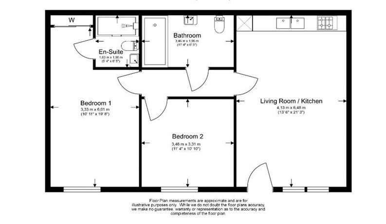 2 bedroom(s) apartment to sale in Vita Apartments, Caithness Walk, Croydon, Surrey-Floorplan