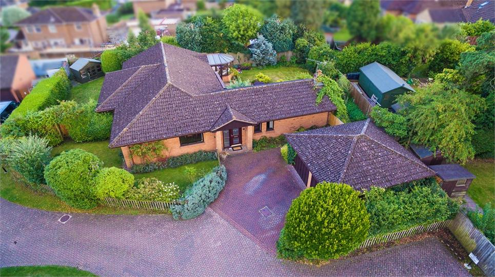 Four double bedroom detached bungalow situated within private development and of approx. 2032 sqft