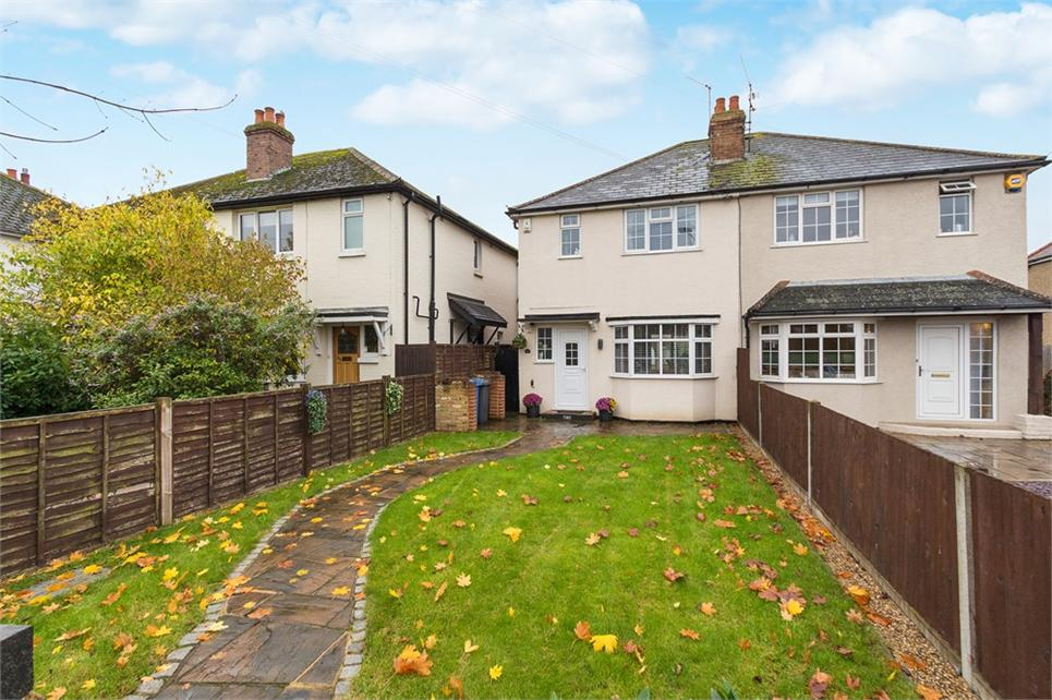 Extended three bedroom semi-detached family home situated in charming village of Old Windsor and nearby amenities
