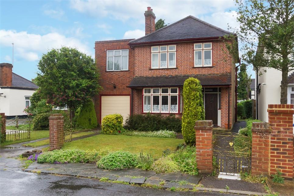 Four bedroom detached house situated on private road in heart of Old Windsor and offered to the market in need of cosmetic updating