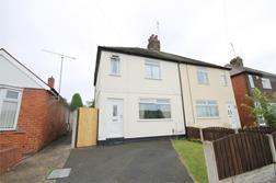 Bradforth Avenue, MANSFIELD, Nottinghamshire: £107,500
