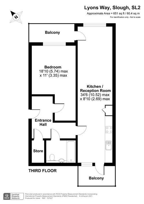 6 Lyons house,  Stoke Road,  Slough,  SL2 5AB