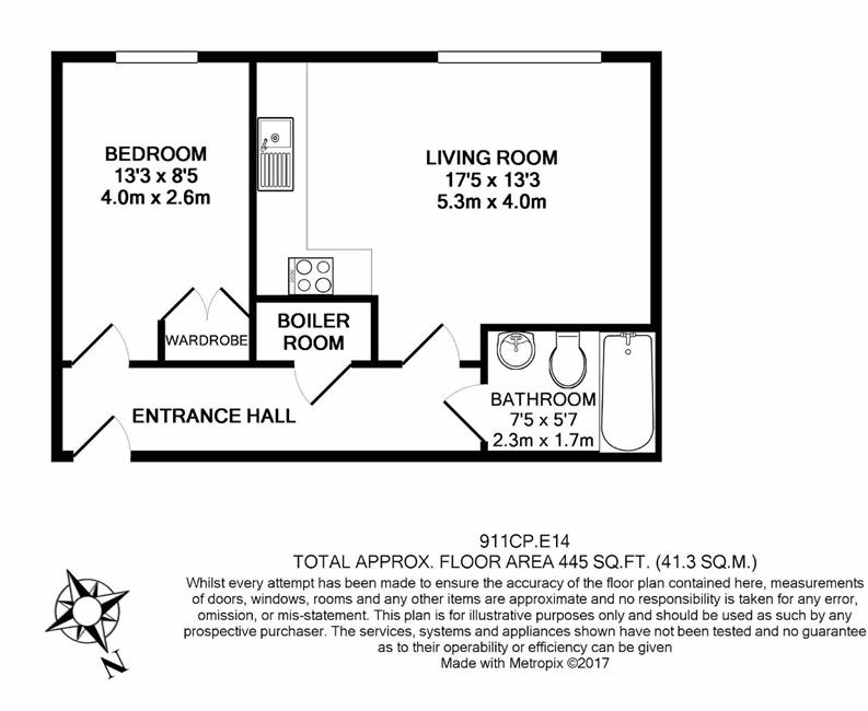 1 bedroom(s) apartment to sale in Cobalt Point, 38 Millharbour, London-Floorplan