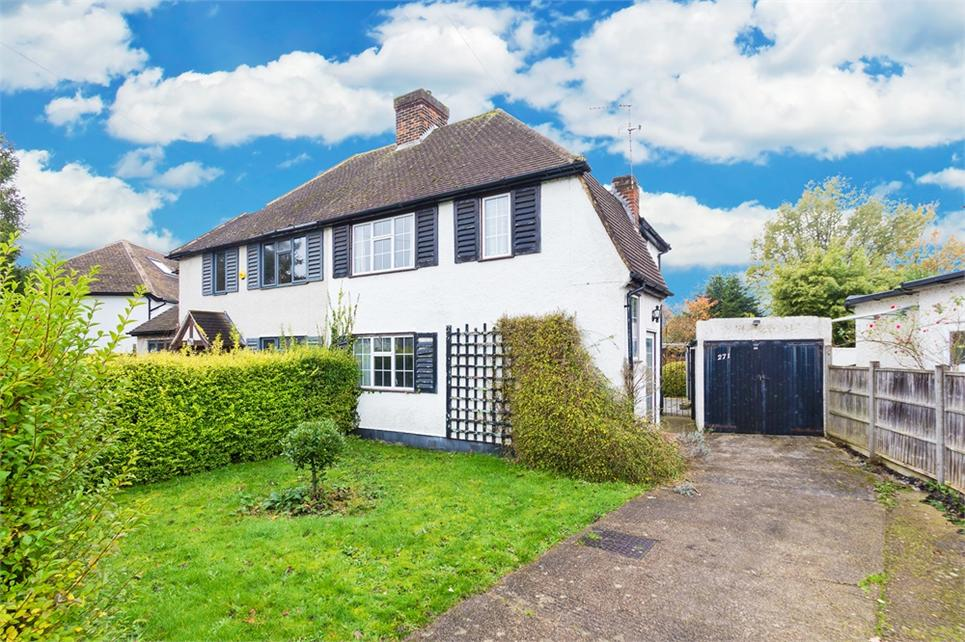 VIEW TODAY - EARLY VIEWINGS RECOMMENDED - Two double bedroom semi-detached house located on sought-after road and offered IN NEED OF MODERNISATION