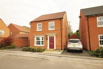 The Hay Fields, Rainworth, MANSFIELD, Nottinghamshire: £205,000