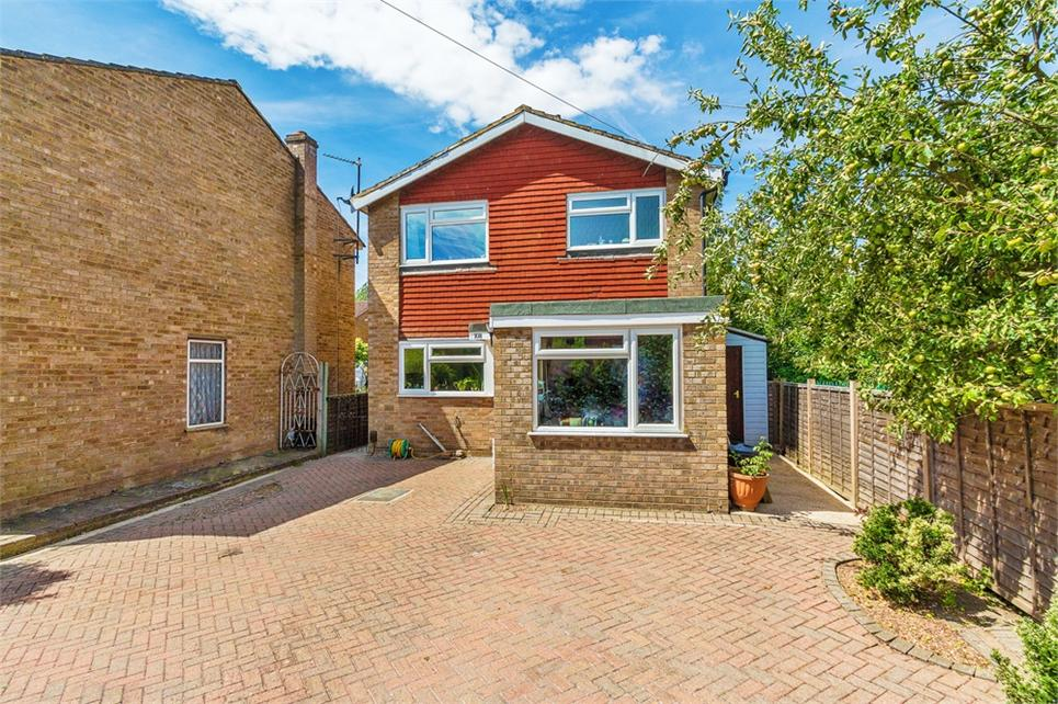 Four bedroom detached house located in the sought-after Garden City Estate and within 0.7 miles of High St and Mainline Station (Cross Rail 2018)