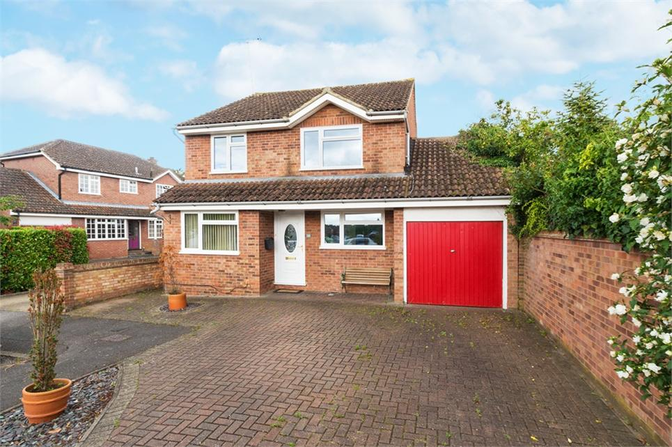 Extended four bedroom detached family home situated on corner plot and on sought after cul-de-sac