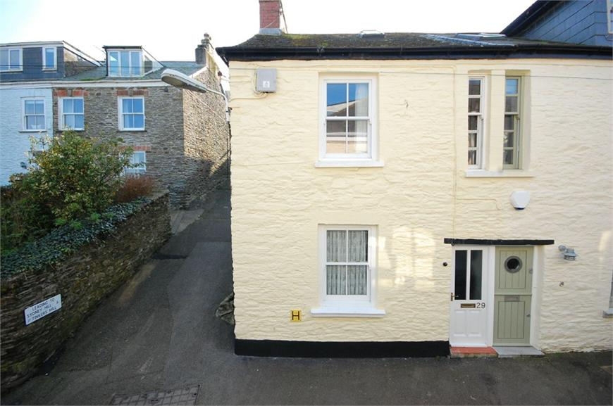 West Street, Polruan, Cornwall