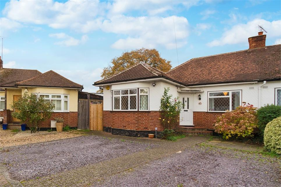 Extended and well presented three bedroom semi-detached bungalow offering flexible accommodation and located on sought after cul-de-sac
