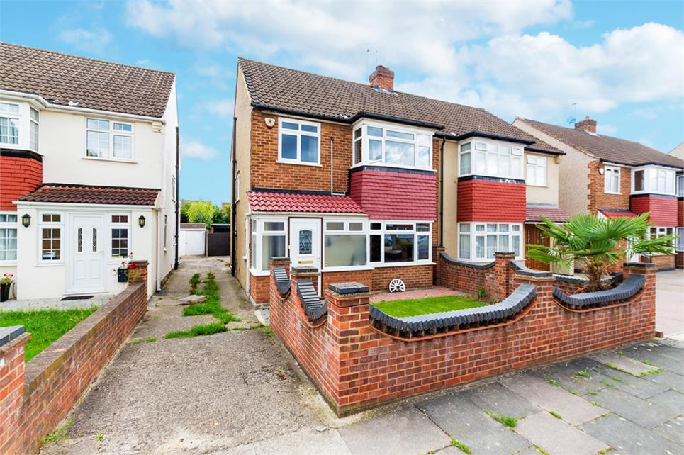 Extended three bedroom semi-detached family home situated well for access to Heathrow Airport and West Drayton