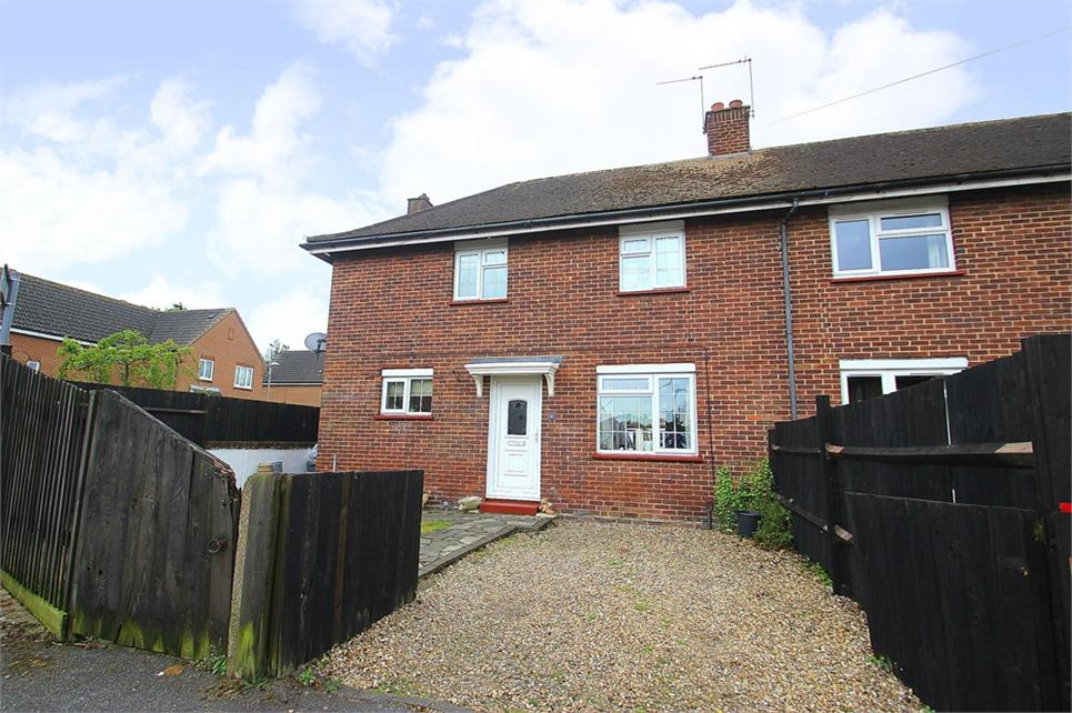 Rarely available three bedroom end of terrace house situated nearby local shops