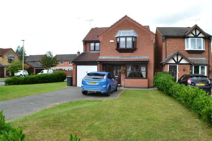 Honeysuckle Close,  Coalville,  LE67