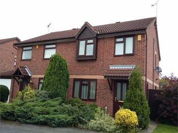 St Mellion Way, Kirkby in Ashfield, NOTTINGHAMSHIRE: £130,000